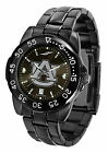 Auburn Tigers Watch Fantom Gunmetal Finish Ladies Mens Black Dial