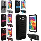 Heavy Duty Armor Hybrid Stand Case Cover For Samsung Galaxy Core Prime G360