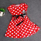 Minnie Mouse Dress Skirt Tutu Costume Outfit Princess Girls Kids Baby, Mickey