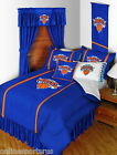 New York Knicks Comforter Bedskirt and Sham Twin Full Queen King Size
