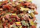 100G,200G,500G,1KG TROPICAL AQUARIUM FISH FLAKE FOOD FEED WATER TANK NUTRITIOUS