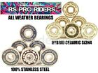 ALL WEATHER BEARINGS CERAMIC Si3N4 & S/S ABEC 9 627 SKATE ROLLER HOCKEY DERBY 11