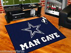"Dallas Cowboys Man Cave Area Rug 34"" x 43"", 5 ft x 6 ft or 5 ft x 8 ft"
