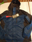 ZeroXposur Mens M or L Hooded Water Wind Resistant Polyester Coat Jacket NWT
