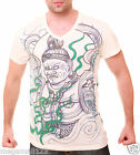 Irezumi T-Shirt Sz M L XL Japanese Tattoo Yakuza Shinto God Deva Indy W13