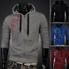 Stylish Men's Casual Hoodie Sweatshirt Jumper Coat Hooded Jacket Outwear Tops