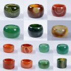 "Agate thumb ring ""each one picture"""