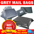 Grey Mailing Bags Strong Poly Postal Postage Post Mail Self Seal All Sizes Cheap <br/> Fast Delivery NEW SIZES 5x7&quot; 8x10&quot; 10x12&quot; 33x41&quot;