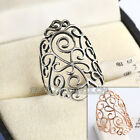 A1-R3160 Fashion No Stone Gold Plated Ring 18KGP Size 6.5,8,9