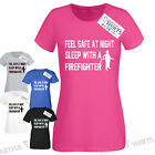 Firefighter SLEEP WITH! Artful T Shirts Top gifts ideas birthday fireman husband