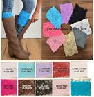 Внешний вид - Lace BOOT CUFFS Leg Warmer Topper *Grace* Misses & Plus Size USA Seller FREE SHP