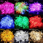 33FT 10M 100 LED Waterpoof String Fairy Lights Christmas Wedding Party Garden