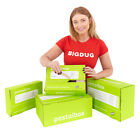 Packaging Postal Boxes Mailing Packing Recyclable Reusable Boxes 3 Sizes BiGDUG