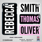 Personalised Custom YOUR NAME CASE Hard Cover for iPhone 7 8 XS for Samsung S9