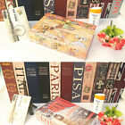 Mini Book Dictionary Home Cash Money Jewelry Key Lock Security Safe Case Boxes