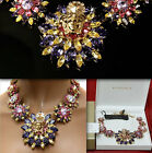$2,075 GIANNI VERSACE Blooming MEDUSA NECKLACE w/ Price, Box & Certificate