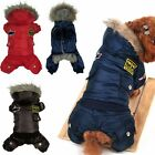 Dog Cat Clothes Pet Apparel Puppy Clothing Winter Warm Thick Coat Hoodie Jacket