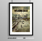 THE WALKING DEAD CAST SIGNED AUTOGRAPH PRINT POSTER PHOTO TV SHOW SERIES DVD