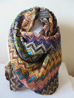 AZTEC LONG SNOOD SCARF WITH SLIGHT GLITTER 4 DESIGN SAVAILABLE MULTI COLOUR new