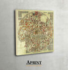 Ancient Ebstorf world Map - Archival Fine Art print, Mappa Mundi Map