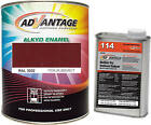 Advantage Alkyd Synthetic Enamel RAL 3032 Pearl Ruby Red Metallic Paint