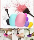 MAKEUP COSMETIC BRUSH FOUNDATION APPLICATOR CLEANING CLEANER GLOVE TOOL SCRUBBER