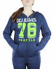 Seattle Seahawks NFL Womens Established 1976 Full Zip French Terry Hoodie $29.99 USD on eBay