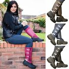 HORSE RIDING WINTER YARD STABLE RAIN WATERPROOF SOLE MUCKER BOOTS SIZE UK 3-12