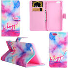 For iPhone 6S 6S Plus Pattern Design Leather Wallet Stand Card Slot Case Cover