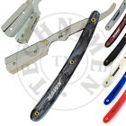 STRAIGHT CUT THROAT BARBER SHAVING RAZOR SHAVER RASOIRS RASIERMESSER & BLADES