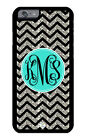Personalized Monogram iPhone Case Protective Cover Chevron without Glitter