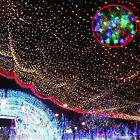 Outdoor Star Waterproof LED String Curtain Fairy Light Christmas Wedding Decor