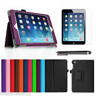 ipad mini retina black - Apple iPad mini 2 with Retina Display Leather Case Cover,Screen Protector.Stylus