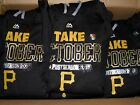 New Mens Majestic Pittsburgh Pirates 2015 Take October Postseason Playoff Hoodie on Ebay