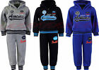 Boys Jogging Suits Athletic Tracksuit Top & Joggers Kids Clothes Ages 3-12 Years