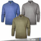Mens Jumpers Knitted Pullover Long Sleeve Branded Sweater Sweatshirt New