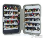 G Fly Box + Mixed Trout Fishing Flies Wet Dry Nymph Buzzers Size 8 10 12 14 16 <br/> Buy with confidence, over 4296 sold, Genuine UK Seller.