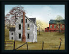 Morning Has Broken Billy Jacobs 18x24 Red Barn Farmhouse ...