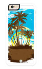 iPhone Case Premium Protective Cover Tropical Sunset