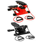 Bentley Sport Hydraulic Twist Stepper With Training Ropes Mini Steps - Red/Black