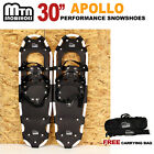 """New MTN 30"""" Man Woman Kid Teen Snowshoes up to 255 lbs /Free Bag"""