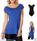 NEW LADIES WOMANS SEXY SUMMER HOLIDAY BEACH TOP TUNIC PLUS SIZE 16-26 UK
