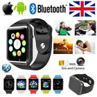 Bluetooth Smart Watch SIM TF For iPhone Samsung HTC LG Android Phone W/ Camera