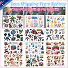 Kids Temporary Tattoos Stickers Avengers Thomas Cars Ninja Princess Cinderella  for sale  Shipping to United States