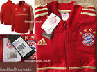 S XL XXL ADIDAS BAYERN MUNCHEN Munich ANTHEM JACKET  NEW Tags