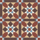 Olde English Grasmere Victorian Style Geometric Exterior/Interior Floor Tiles