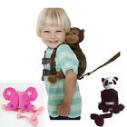 Safety Harness Strap Baby Kid Toddler Walking Cosplay Backpack Reins Bag