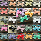 6/21pcs Vintage Resin Bow Flatbacks Cabochon Wholeasale Jewelry Lots 23x14mm