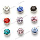 Fashion 1 Pair 5mm Non Piercing Clip on Magnetic Magnet Ear Stud Unisex Earrings