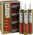Everbuild Griptite high grab builders construction quick drying solvent adhesive